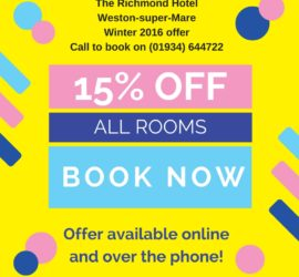 special-offer-15-discount-the-richmond-hotel-weston-super-mare